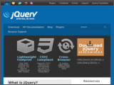 thumbnail for http://jquery.com/