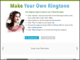thumbnail for http://makeownringtone.com/
